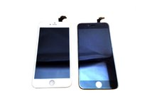 Wholesale Midframe For Iphone - For iPhone 6 Plus LCD Display Touch Screen Digitizer Complete Assembly 5.5 inch 100% New Replacement With Midframe Grade AAA