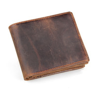 Wholesale Wholesale Cowhide Wallets - new2016 Mens Brand Leather Wallet, Men's Genuine Leather With Wallets For Men Purse Wallet Men Wallet Cowhide free shipping