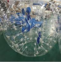 zorb für kinder großhandel-Dia 1m Kinder im Freien lustiges Spielzeug aufblasbaren menschlichen Hamster Ball Blase Fußball Fußball Zorb Ball Zorbing Stoßball Zorb Rolling Bälle