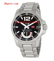 Wholesale Mens Silver Xl Watch - Brand New Hot Sell Mens Automatic GT XL Power Reserve Watch 158457-3001 Stainless steel Bracelet Black Men's Sport Wrist Watches