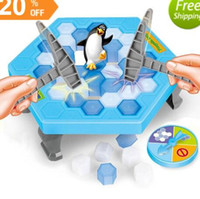 Wholesale Puzzle Block Game - Save Penguin Knock Ice Block Interactive Family Game Penguin Trap Puzzle Table Games Balance I Broken Ice Cubes Puzzle Toys Desktop Game