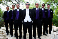 Wholesale Groom Attire Black Men - Custom ambition to groom is suitable for the best man men's suits the groom wedding (coat + pants, tie and waistcoat) business attire