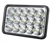 12v 45w toptan satış-6 inç 45 W LED İş Işık 12 V ~ 30 V DC LED Sürüş Offroad Işık Tekne Kamyon Römork SUV ATV LED Sis Işık Su Geçirmez KF-L2109