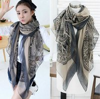 Wholesale Totem Pattern Scarf - New Arrive Fashion Totem Beer Patchwork Pattern Chic Women Scarves Elegant Pashmina Scrawl Infinity Scarf Shawls Wrap
