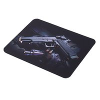 Novo Gun Picture Anti-Slip Laptop PC jogo Tapete Pad Almofadas para Mouse Laser Optical Atacado