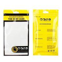 caso de couro iphone oem venda por atacado-Sacos de Embalagem de varejo Mão Buraco Casos Embalados Zipper Bloqueio Saco de OPP PVC Caixas de Embalagem para o Telefone de Couro Caso iPhone 8 7 6 S Plus OEM