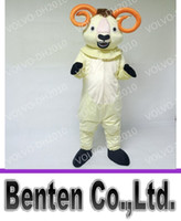 Wholesale Costume Halloween Mascotte - VO361 EVA Material Bighorn Ram Mascot Costume Halloween Christmas Birthday Party Anime Mascotte Theme Fancy Dress Adult Size Walking Event