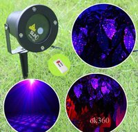 LED FloodLight Outdoor Waterproof IP65 Laser Firefly Stage Lights Paisagem Red Green Projector Natal Garden Sky Star Lawn Lamps Por DHL