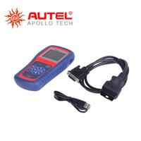 escáneres de código de enlace automático al por mayor-Al por mayor- [Distribuidor autorizado] Lector de códigos de diagnóstico automático Autel AutoLink AL419 Actualización del escáner automático en línea Multi-Language Autel AL419