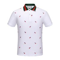 Wholesale Embroidery Top Design - 2018 New Arrivals fashion design polo shirt men brand clothing casual simple embroidery dancer short sleeve Polo male top quality