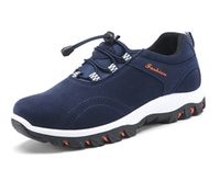 Wholesale Male Adult Sneakers - 2017 New men casual shoes Breathable Fashion Outdoor Non Slip Climbing shoes Adult Male sports shoes Man Flats size 39-44 Sneakers