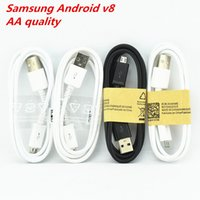 Wholesale V8 Price - A+++ quality Micro V8 USB Cable 1M 3FT Sync Data Cable for samsung 7100 Galaxy S4 S5 Note 3 Note 4 Android smart phone factory price