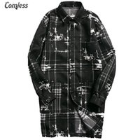 Wholesale Men S Clothes Wholesale Prices - Wholesale- 2016 New Autumn Japanese Style Design Long Jacket Men Causal Outwear Jackets And Coats Mens Windbreaker Clothing Wholesale Price