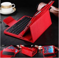 Keyboard Case 10'' For Samsung Removable Wireless Bluetooth Keyboard leather Case Stand For Samsung Galaxy Tab 4 E A S S2 T560 T350 T710 T810 T800 T700 T230