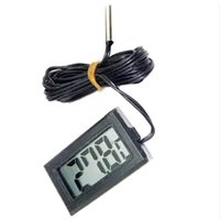 Digital Display Thermometer NTC Sensor T110 Temperaturmesser mit wasserdichter Sonde