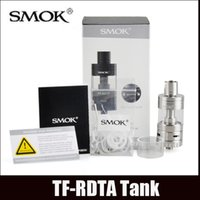 Wholesale S2 Clone - Smok TF-RDTA Tank clone 5ml TF RDTA Atomizer Airflow Control S2 Deck Dual-Post Velocity Style No Leaking Juice Flow Control Vaporizer
