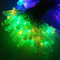 Wholesale Cross Christmas Led Lights - Wholesale- AA Battery Operated 10M 100 LED Christmas Holiday Wedding Party Decoration Festi LED Christian Cross String Fairy Lights Lamps