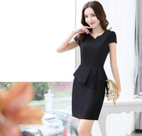 Wholesale Dress Korean Chiffon Fashion Woman - Free Shipping New Women Dress Chiffon Simple Cotton Hemp Suit Hemp Sprign Summer Slim Fashion Korean Style 21 Black