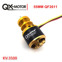 Wholesale Rc Airplane Brushless Outrunner Motor - QX-MOTOR 3500KV Only Outrunner Motor Brushless For RC Quadcopter Drone Helicopter in High Quality