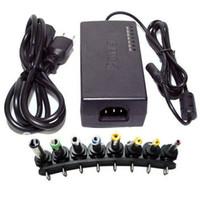 alimentação universal do adaptador de carregador 96w venda por atacado-Carregador universal do adaptador da alimentação CA 96W para a CC 15V-24V do caderno do portátil