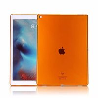 Wholesale case ipad tpu gel - Ultra Slim TPU Case For iPad Pro Soft Gel Silicon Transparent Clear Cover Case for Apple iPad Pro 12.9