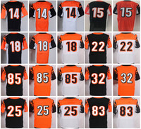 Wholesale Andy Dalton - Elite football jerseys #18 A.J. Green John Ross Giovani Bernard Tyler Boyd Leonard Floyd Tyler Eifert Andy Dalton cincinnati men's jerseys
