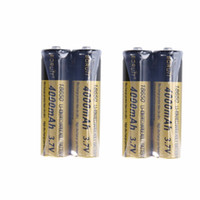 Wholesale Boruit Flashlight - 4PCS 4000mAh Rechargeable 18650 BORUIT Battery Batteries Lithium for Headlamp Headlight LED Flashlight Latest Certification CE