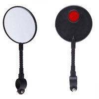 Wholesale Wide View - Wide Angle Adjustable High-strength ABS Mountain Road MTB Bike Bicycle Rear View Mirror Reflective Cycling Safety Flat Mirror