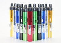 Wholesale Torch Yellow Light - In stock Herbal Vaporizer Smoking Pipe Touch Flame Lighter with Built-in Wind Proof Torch Light Click N Vape Sneak A Vape