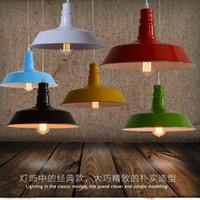 Wholesale Vintage Fluorescent Ceiling - Home Fixture Ceiling Lamp Retro Industrial Iron Vintage Pendant light Deco Chandelier