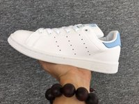 sports shoes baeb8 736d6 La venta caliente Stan calza las zapatillas de deporte de Smith Los hombres  de cuero ocasionales