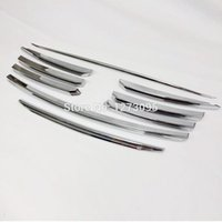 Wholesale Mesh Grills For Cars - For 2014 2015 Mazda CX-5 CX 5 CX5 ABS Chrome Front Grille Cover Center Mesh Grill Around Trim Exterior Car Styling Accessories 9pcs