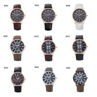 Wholesale Cheap Stainless Steel Belt - Cheap fashion business unisex watches power reserve watch GTWH11,Quartz Wrist watches analog-digital strap watches 6 pieces a lot mix color