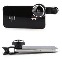 iphone мобильный объектив оптовых-Универсальный более продвинутый мобильный телефон клип рыбий глаз объектив Рыбий глаз объектив 235 градусов для iPhone Samsung Sony HTC LG Android телефон