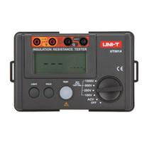 Wholesale Ground Resistance - UNI-T UT501A 1000V Insulation Resistance Meter Ground Tester Megohmmeter Voltmeter w LCD Backlight Electrical Instruments