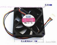 Wholesale Avc Fan Cpu - Original AVC 7015 DS07015R12L 70*70*15MM 0.30A 7cm 4 wire CPU cooling fan