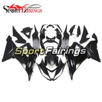 Wholesale motorcycle new body kit resale online - Black Matte Fairings For Kawasaki ZX6R ABS Plastic Injection Motorcycle Bodywork Cowlings Body Kit Carenes New