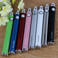 Wholesale Lowest Price Wholesale Ego Twist - Evod Twist battery Adjustable Voltage Ego Evod Battery E Cigarette evod twist battery variable voltage Free Shipping Lowest Price