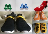 Wholesale Factory Leather Band - 2017 Factory size 36-46 New Human Race NMD Pharrell Real Boost with Nipples Runner Pharrell Williams X Human Race NMD Running Shoes Sneakers