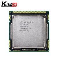 intel i7 1156 großhandel-Original Intel Core i7 870 Prozessor Quad Core 2,93 GHz 95 W LGA 1156 8 M Cache Desktop CPU