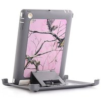 Для iPad2 Heavy Duty Camouflage Screen Protector Clip Shell Belt Holster Kickstand Водонепроницаемый чехол для Apple iPad 2 3 4