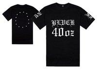 streetwear pyrex venda por atacado-PYREX 40OZ t-shirt dos homens hip hop camisetas frete grátis novo 2017 estilo hiphop tops manga curta streetwear moda plus size frete grátis