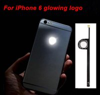 Per Kit pannello Mod Logo iPhone 6 LED fai da te luminescenti LED Glowing Logo Per iPhone6 ​​6G 4.7 alloggiamento posteriore