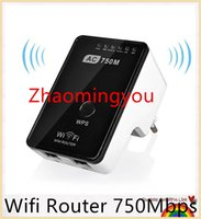 Wholesale Wifi Router Mbps Mini Router Wireless Wifi Repeater Dual Band GHz Wifi Signal Amplifier Booster ac b g n