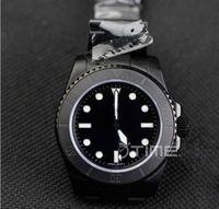 Wholesale hunter sports - Mens Full Black PVD Case Pro Hunter Best Limited Edition On Black PVD Bracelet ETA 2836 sapphire crystal movement Automatic Wristwatch