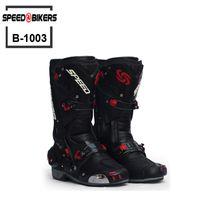 Wholesale High Speed Motorcycle - Men Motorcycle Boots Motocross Racing Speed Motorbike shoes Moto Boot Motorcycles Boots Men dirt bike Cycling Sports Botas B1003