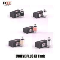 xl batterie großhandel-100% ursprünglicher Yocan Evolve Plus XL Zerstäuber-Wachs-Zerstäuber-Behälter mit QUAD Spule für Faden-Batterie 510