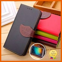 Wholesale Candy Cases Flip - Galaxy S7 Leather Wallet Cases Candy Leaf Flip Case Card Slide Cover for iPhone 7 6 6s Plus Samsung Note7 S6 S7 edge