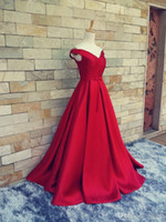 2016 Real Photos Prom Dresses largo de hombro volantes Backless formal vestidos de noche Longitud del piso Partido Pageant vestido de alfombra roja