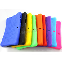 Wholesale Cheap Tablets Protective Covers - Silicone Tablet PC Case Soft Thick Gel Cover For 7 Inch Q88 Cheap Shock Proof Anti Dust Protective Back Case Cover Free Shipping